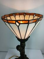 Vintage Tiffany Style Decorative Table Lamp Art Home Decor
