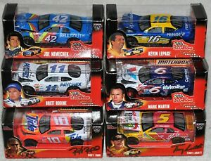 Racing Champions 50th & Signature Driver Series 6 car Lot New Factory Sealed box