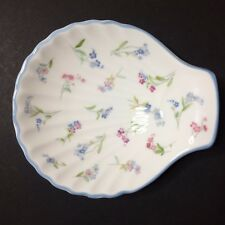 Vintage Royal Worchester Fine Bone China Forget Me Not Dish / Plate 5""