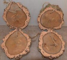 Knabber-Kork-Scheibe (4 Stück)zum Spielen,Wetzstein für Nager u. Vögel,Hamster