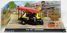 DIORAMA TUK TUK OCTOPUSSY JAMES BOND 007 UNIVERSAL HOBBIES 1/43 EDITIONS ATLAS