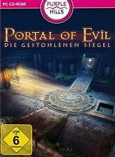 Portal of Evil * i rubati sigillo * scrutare-GIOCO PC DVD-ROM