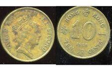 HONG KONG  10 ten cents 1985  ( bis )