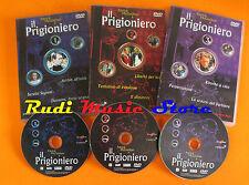 3 DVD IL PRIGIONIERO 1 2 3 Patrick mcgoohan 2002 italy YAMATOO   mc lp vhs (D3)