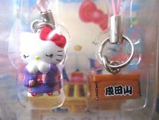 Sanrio Hello Kitty KIMONO NARITASAN Charm Mascot Cell Phone Strap Japan New
