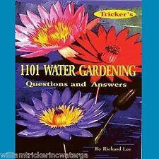 William Tricker Book 1101 Water Gardening Questions