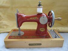 Russian Soviet Sewing Machine for Girl metal wood made USSR СДЕЛАНО В СССР