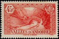 """ANDORRE FRANCAIS 34 """" PONT DE SAINT-ANTOINE , A LA MASSANA 45 C. """" NEUF xx TTB"""