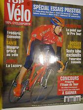 TOP VELO N°95: FEVRIER 2005: SPECIAL ESSAIS PRESTIGE - FREDERIC GUESDON - GIANT