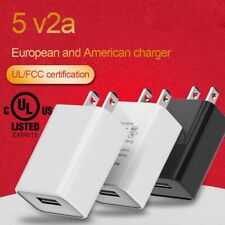 5V 2A Wall Charger Adapter US Plug USB Port for Android Phone Fast Charging Cube