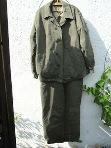 NVA-Felddienstuniform Winter, sog. Watte, eines ehemaligen Oberleutnants, g52