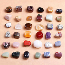 5PCS Lucky Colorful Polishing Tumbled Stones Inspiration Reiki Crystals Healing