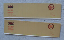 Vintage Oo Scale Boxcar Cardboard Side Panels Frisco Lines