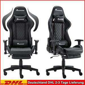 Gaming Zocker PC Stuhl Sessel chair Gamingstuhl Zockersessel Gamerstuhl 300kg