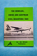 Civil Aircraft Registers of Benelux, Swiss and Austrian , 1981