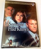 If Someone Had Known (DVD,2005) Kellie Martin, Kevin Dobson.NEW! FACTORY SEALED!