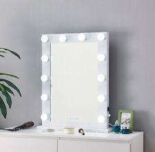 Hollywood Mirror Bianco Lampadina Led Light Up VANITY Da Toeletta Trucco Illuminato USB