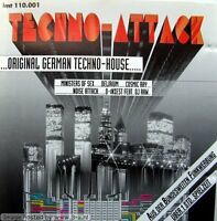 Techno Attack-Orig. German Techno-House (1991) Accelerator, Synchron, Cos.. [CD]