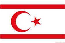 NORTHERN CYPRUS FLAG 3X2 feet 90cm x 60cm FLAGS Turkish