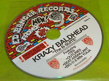 Krazy Baldhead – The B Suite - ED BANGER RECORDS !!!!!FRENCH PROMO CD!!!!!!!