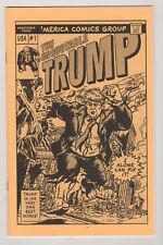 Unquotable Trump #1 Ashcan mini-comic 1st print Cover swipes Parody scarce NM