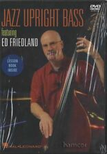 Jazz Upright Double Bass by Ed Friedland Learn How to Play Tuition DVD