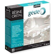 PEBEO GEDEO KIT RESINA CRYSTAL TRASPARENTE 300 ML HOBBY CREATIVI FAI D ATE