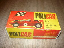 POLICAR BOX REPLICA P52 BRM F1 SLOT CAR PISTA ELETTRICA SCALA 1/32