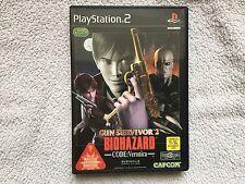 Sony PlayStation 2 Game, Biohazard Gun Survivor 2 NTSC/JAP Version.