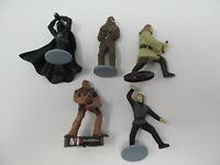 broken damaged 5 Star Wars action figures lot 1997 Applause Vader Luke Chewbacca