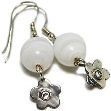 Reclaimed Treasures--Sterling Swarovsky Crystal & Glass Earrings By SoniaMcD