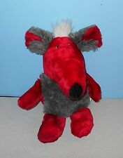 "20"" EIFA QUAKENBRUECK German Red Rat w/ Grey Tummy Stuffed Plush Animal"
