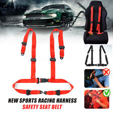 4 Point Racing Harness Safety Seat Belt Car Strap Quick Release Sport Race Drift