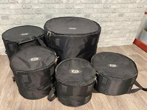 Ritter Drum Soft Cases Lined x5 / Bag / Accessory / Hardware