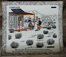 Cowpokes 1980s Ace Reid Ranch Tumble Weed Dry Gulch Cowboy Cartoon Poster #5 G