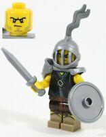 LEGO ROMAN GLADIATOR MINIFIGURE HISTORICAL COLOSSEUM MADE OF GENUINE LEGO PARTS
