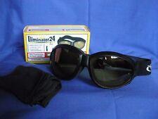 ELIMINATOR 24 Transitional motorcycle biker sports Goggles Yellow night drive
