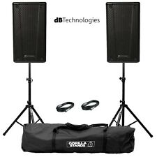 "2x db Technologies B-Hype 10 Active 10"" DJ Disco Live Stage PA Speaker Package"