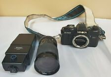 Minolta Camera X-700 W/ Strap Zoom Lens Tamron SP 28-135mm Vivitar 3700 Flash