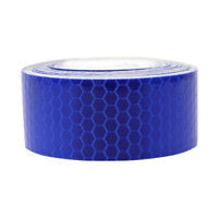 5M Truck Reflective Conspicuity Tape Self Adhesive Glow In The Dark 1.2inX16.4ft