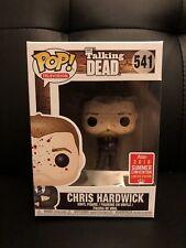 Funko Pop Chris Hardwick Blood Splatter Variant 2018 SDCC Exclusive Walking Dead