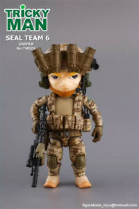 "FigureBase 5"" TM005 Trickyman 3 Seal Team 6 Point Man Figure Collection"