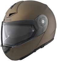 NEW SCHUBERTH C3 PRO MATT METAL HELMET FREE DELIVERY