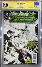 Green Lantern #20 CGC Signature Series 9.8 (Signed by Cover Artist Doug Mahnke)