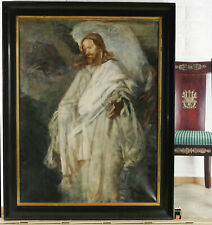 Joseph Emanuel Weiser 1847-1911 Ölgemälde antik Jesus Christus Hauptwerk Christ