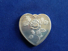 SilverTowne Especially for You Heart Shaped Silver Art Medal P2703