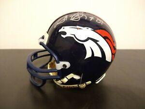 Shannon Sharpe Autographed Signed Mini Helmet - Denver Broncos