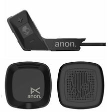 ANON ASFX2 BY BURTON HELMET SNOWBOARD AUDIO STEREO SET – COLOR: BLACK – NEW!!!