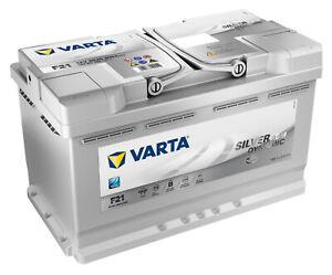 BATTERIA PER AUTO VARTA F21 AGM 80AH 800A 12V START & STOP 580901080 315x175x190