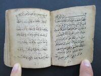 Old Arabic Islamic Islam old Muslim Manuscript Handwritten Havass Prayer Book